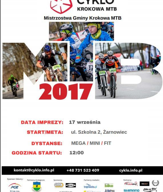 CYKLO Krokowa MTB – Mistrzostwa Gminy Krokowa MTB i finał cyklu!